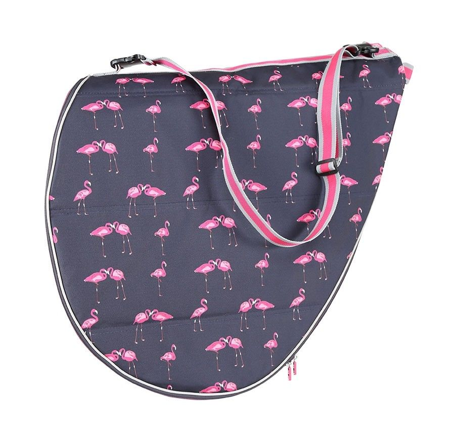 Saddle Cover Flamingo